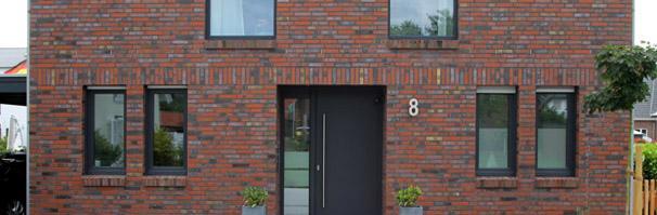 Einfamilienhaus neubau satteldach klinker  Aktuelles: Modernes Einfamilienhaus mit Satteldach, 3 Liter Haus ...