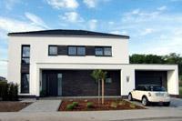 Modernes Einfamilienhaus Massivhaus Satteldach Architektenhaus zum ...