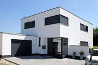 Massivhaus bauen schl sselfertiges bauen zum festpreis for Modernes haus kubus
