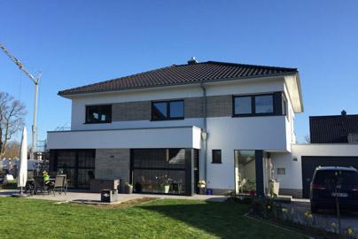 Massivhaus bauen schl sselfertiges bauen zum festpreis - Fertighaus architektenhaus ...
