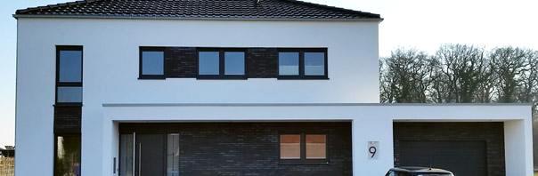 Moderne Stadtvillen Hauser Mit Zwei Vollgeschossen Stadtvilla