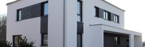Schwarzer Klinker individuelle massivhäuser architektenhäuser zum festpreis
